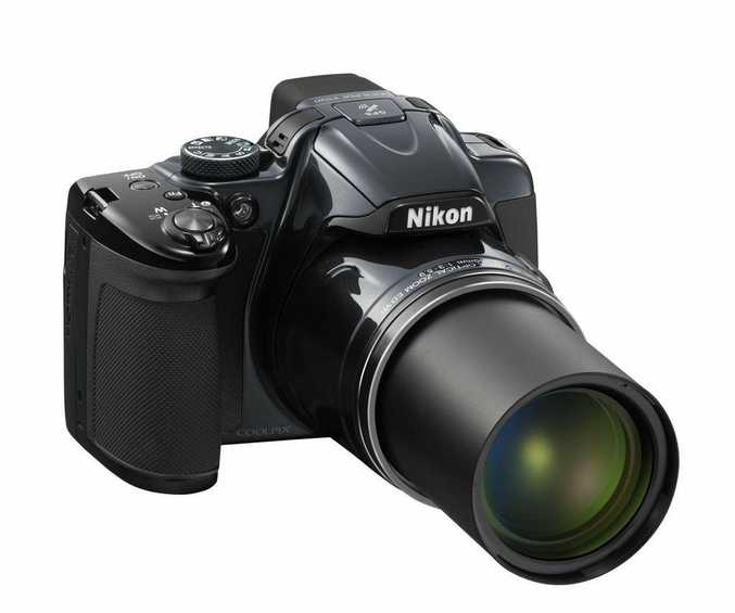 The Nikon P520 offers an impressive 42 times zoom lens.