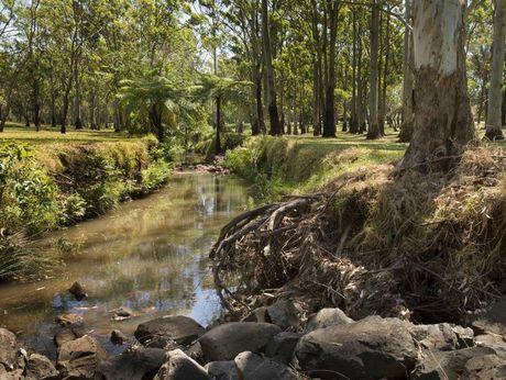 Garnett Lehmann Park has been chosen as a possible site for a 68 megalitre flood detention basin.