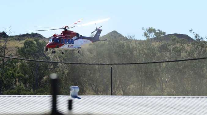 A man died and another was seriously injured after a single vehicle crashed at Queensland Raceway. Photo: David Nielsen / The Queensland Times