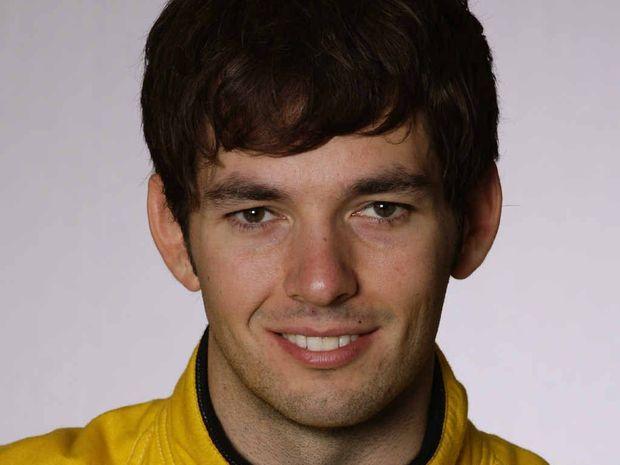 CRASH VICTIM: British racing driver Sean Edwards.
