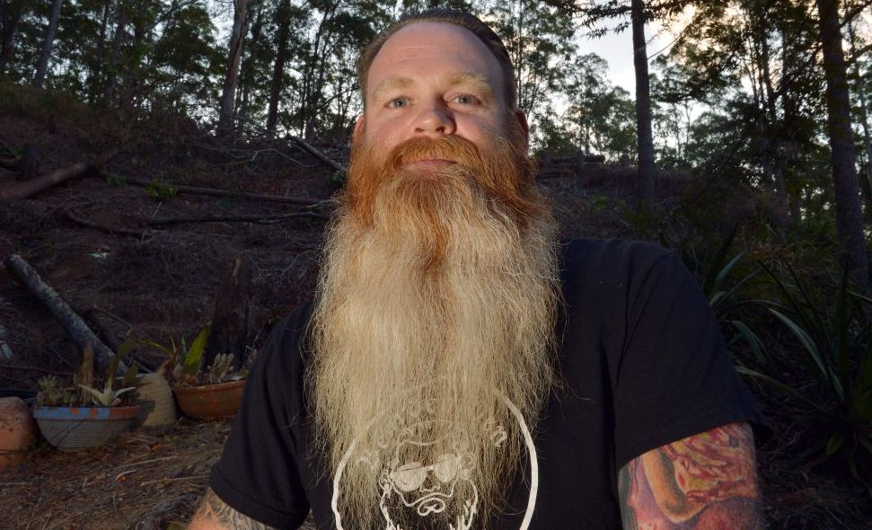 Nathen Coles will represent the Sunshine Coast at a beard competition in Brisbane.