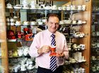 Ipswich mayor Paul Pisasale talks about the upcoming Garage Sale Trail and his quest to find a new coffee cup to add to his collection.