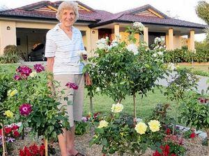 Coming up roses - gardeners enjoy beautiful roses