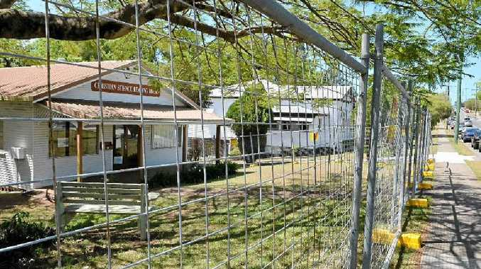 The Christian Science Church site could provide a multi-storey car park for Nambour General Hospital.