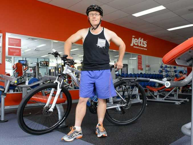 Robert Bird is taking part in the 'Great Cycle Challenge.' He is hoping to ride a cumulative 500km throughout October.