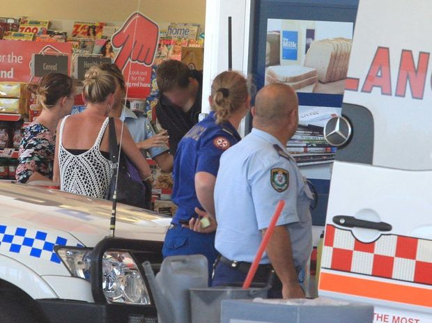 Alex van Honk walked into the Shell Service station at Hastings Point.