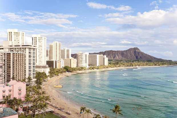 Get to Hawaii and back for a touch more than $1300.
