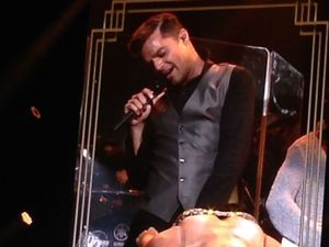 Ricky Martin spices up Brisbane with enthusiastic show