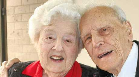 HAPPY ANNIVERSARY: Pauline and John Woolford, from Ballina, celebrated their 70th wedding anniversary on October 16.