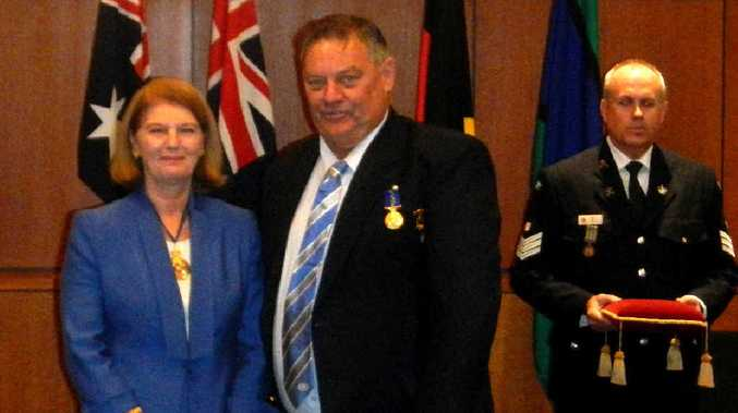 Trevor Maltby has been recognised for the dedication he has given to the Bowen community.