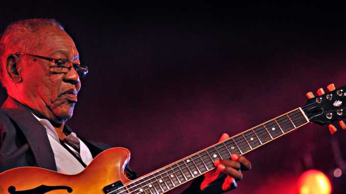Ernest Ranglin the Jamaican guitarist and composer.