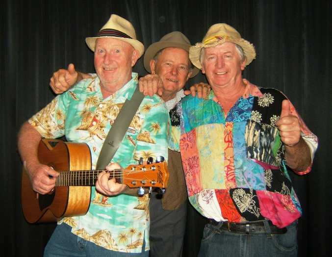 The 3 Randy Poets are back on the Clarence with another madcap comedy show at the Seelands Hall on Saturday at 8pm.