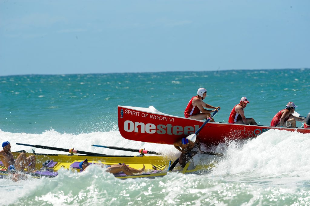 WATCH OUT: Woolgoolga boats crews have stepped up a gear as the competitive season gets closer.