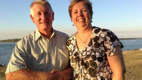 Brian Tighe and Marja Collins reunite 33 years after Mr Tighe negotiated the end to a tense siege.