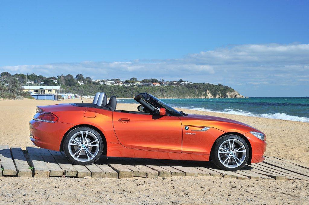The BMW Z4.