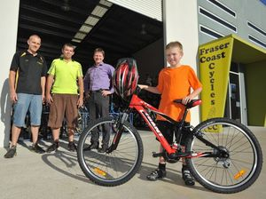 New wheels donated after boy's bike was stolen