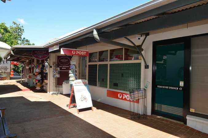 Montville Post Office closed on November 1.