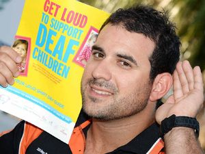 Ricky is keen to raise funds to help kids hear