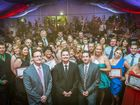 All award winners at the 'Best in Business Awards', held at the Gladstone Marina Marquee, Gladstone. Photo Luka Kauzlaric / The Observer