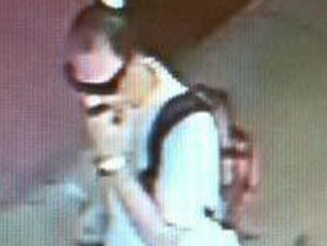 Police are searching for this man after the armed robbery of a jewellery store in Maryborough.