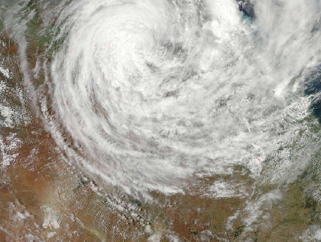 SPIN CYCLE: Cyclone Yasi.