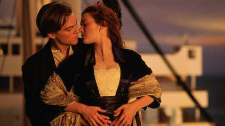A scene from James Cameron's 1997 film Titanic. Clive Palmer says his Titanic II movie will be bigger and better.