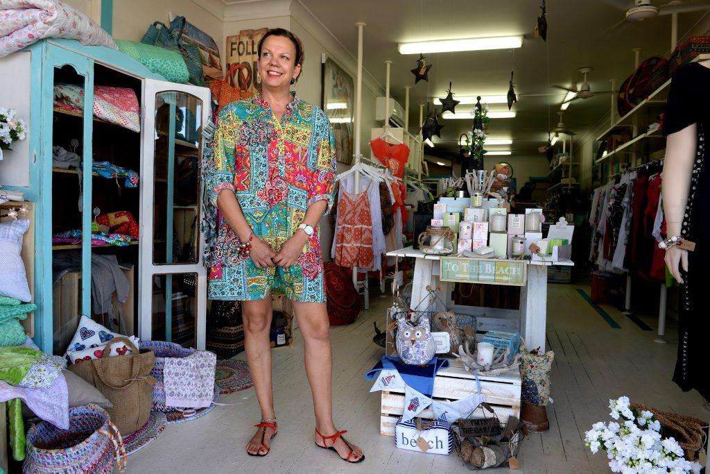 Cancer survivor Julie Strange at Tugun Family Jewels.