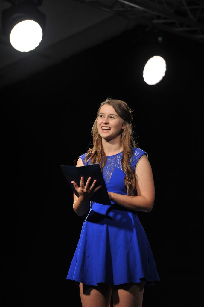 Hannah Gregory - Prose Reading 15 -18 years. Photo Mike Richards / The Observer