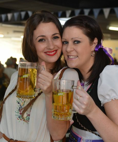 Oktoberfest celebrations at the Old Rivers store in Mackay.