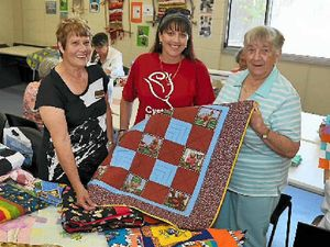 Quilts of compassion for those dealing with cystic fibrosis