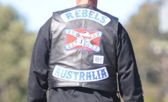 A former Rebels bikie gang member is facing shocking allegations of domestic violence.
