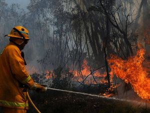 MASSIVE EFFORT: Clarence Valley crews are on standby to head to the Blue Mountains. Photo: AAP