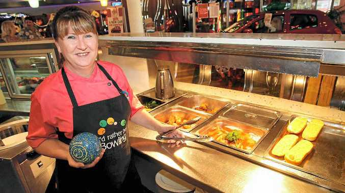Donna Forrest is the head chef at the Caloundra Bowls Club and also a very accomplished bowler.