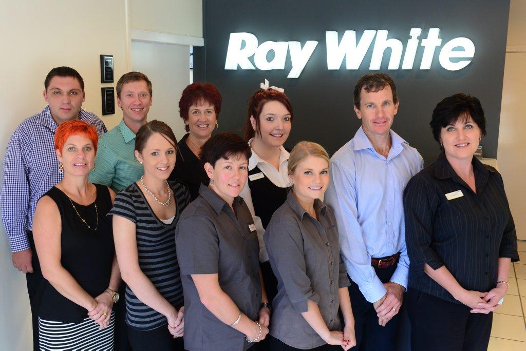 Ray White Gladstone staff.