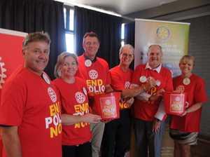 Rotarians push to eradicate polio around the world