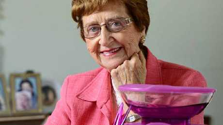DEDICATED: Pat Murphy of Booval has been selling Tupperware for 50 years.