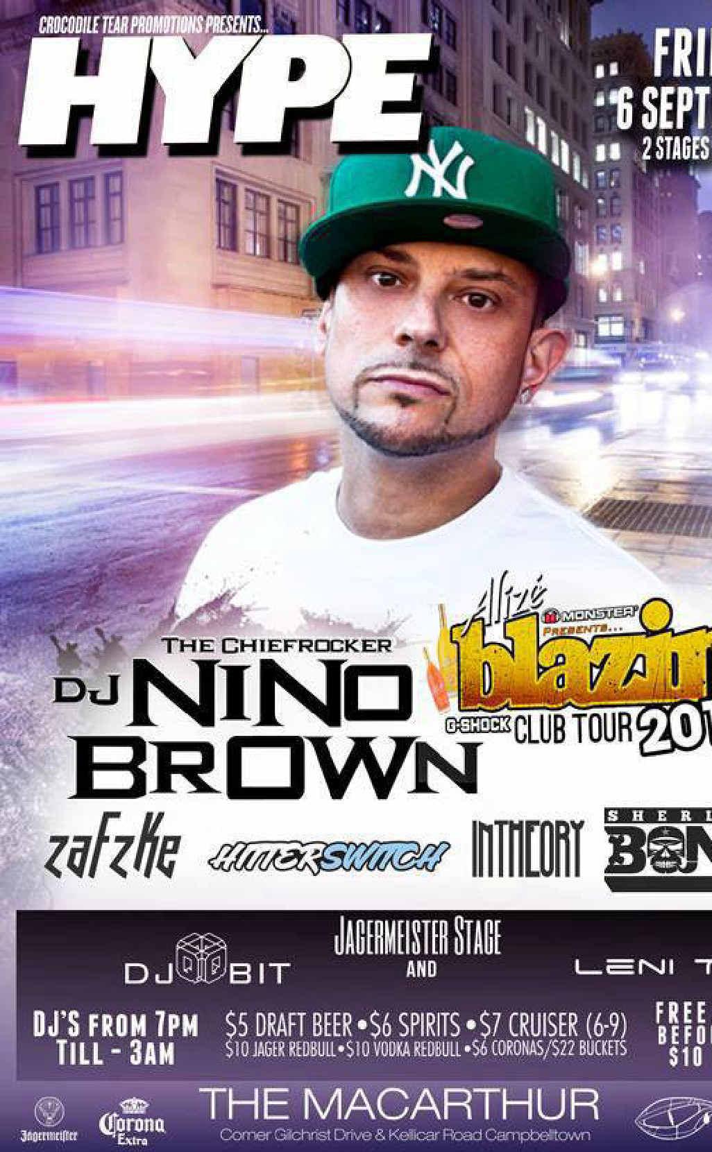 DJ Nino Brown.