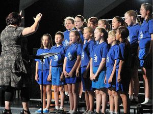 Our little voices raise up big sounds at eisteddfod