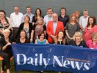 Daily News staff, taken earlier this month, are celebrating the paper's 125th anniversary.