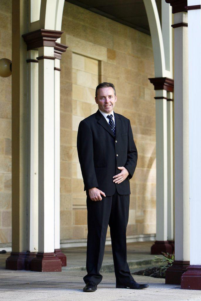 Former Ipswich MP Sean Choat