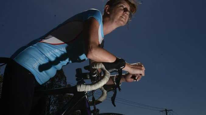 Roxanne Sydenham of Junction Hill - completed Port Macquarie 70.3 Triathlon Photo Adam Hourigan / The Daily Examiner