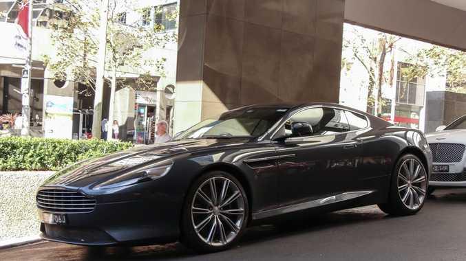 Rare Aston Martin Virage Spotted In Sydney Sunshine Coast Daily - Aston martin virage