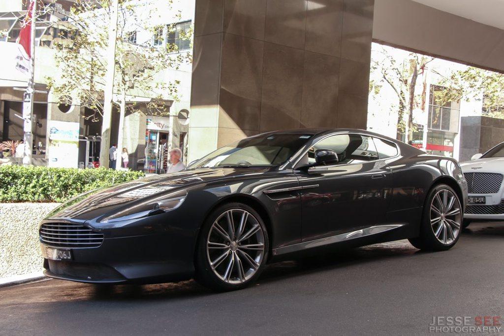 A 2011 Aston Martin Virage.
