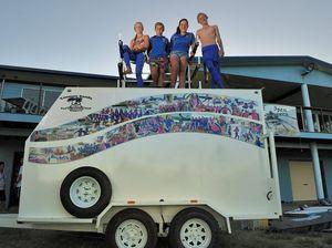 New equipment trailer a lifesaver for Tannum Sands club