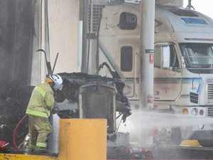 Goondiwindi truck stop fire