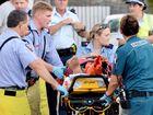 Man injured in motorbike crash