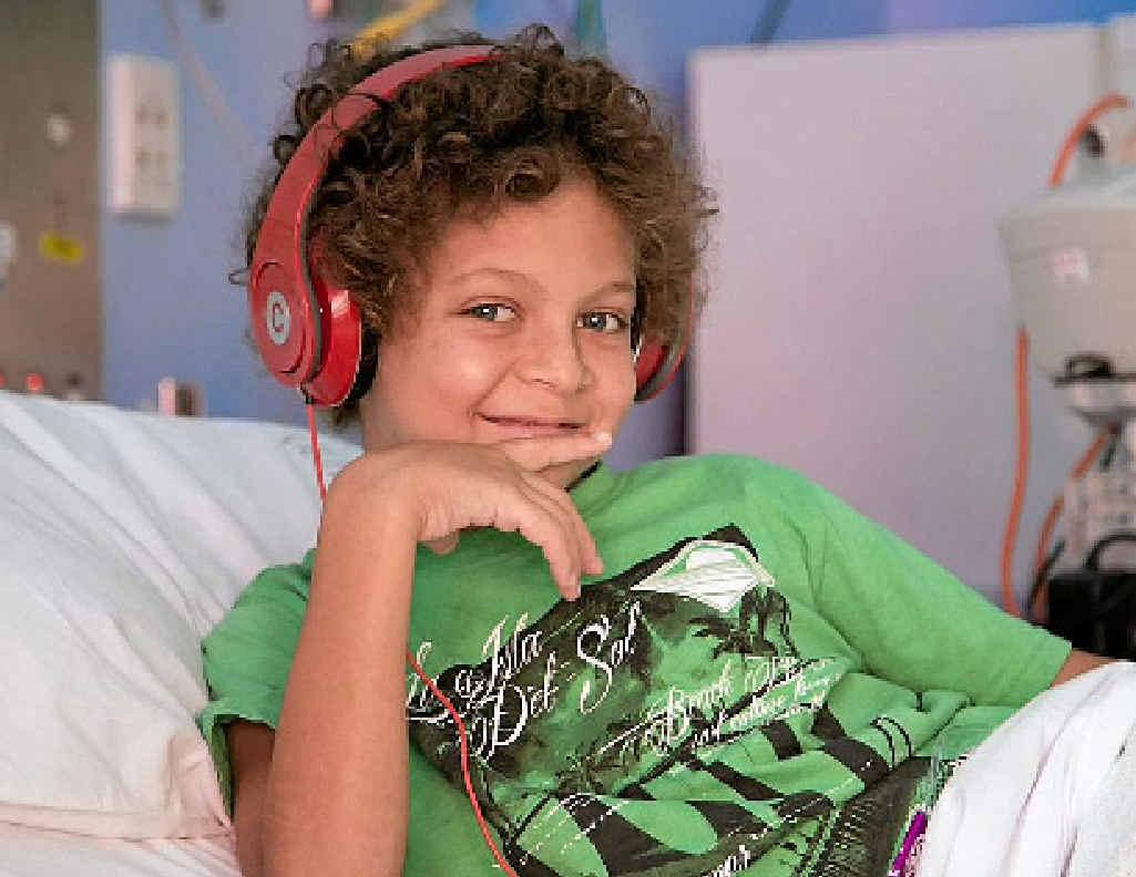 Max Hoiberg has been diagnosed with acute lymphoblastic leukemia.