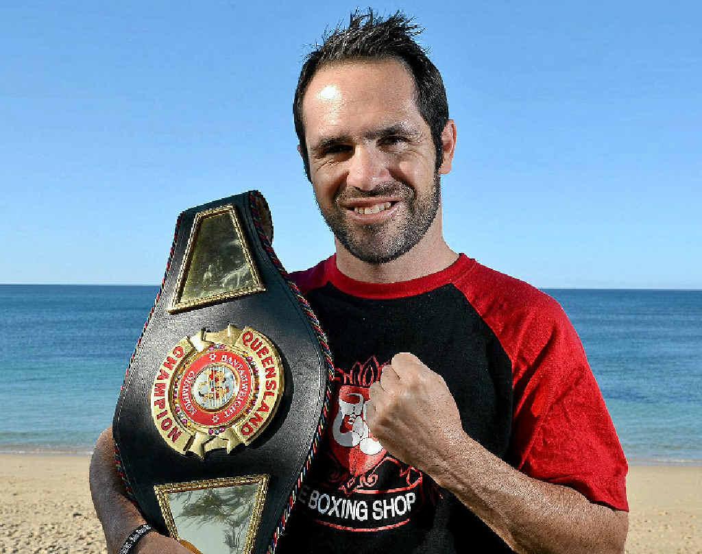 ONE TO COME: Queensland bantamweight champion Brad Hore will fight Filipino Lionel Legada on December 6.
