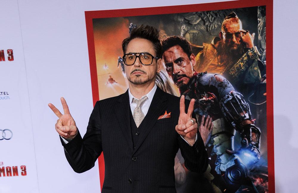 Actor Robert Downey Jr.