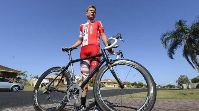 CHALLENGE ACCEPTED: Cyclist Aaron Watts will be one of 251 riders tackling the Grafton to Inverell cycling classic tomorrow.